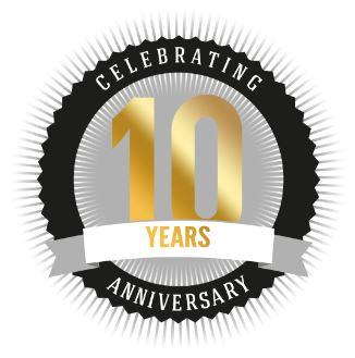 ARAG plc. 10 years