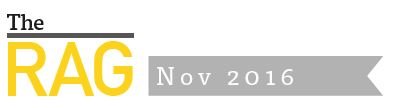 The RAG - Issue 14 - November 2016