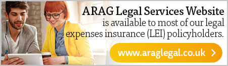ARAG Legal Services Website